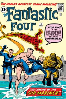 Image result for fantastic four 4 cover