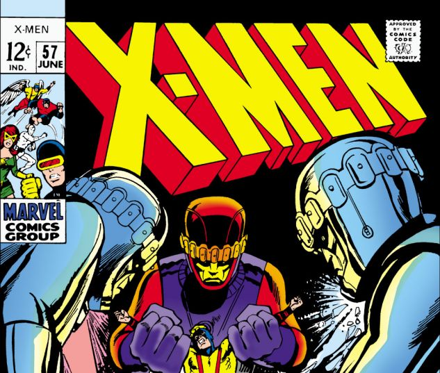 Uncanny X-Men (1963) #57 Cover
