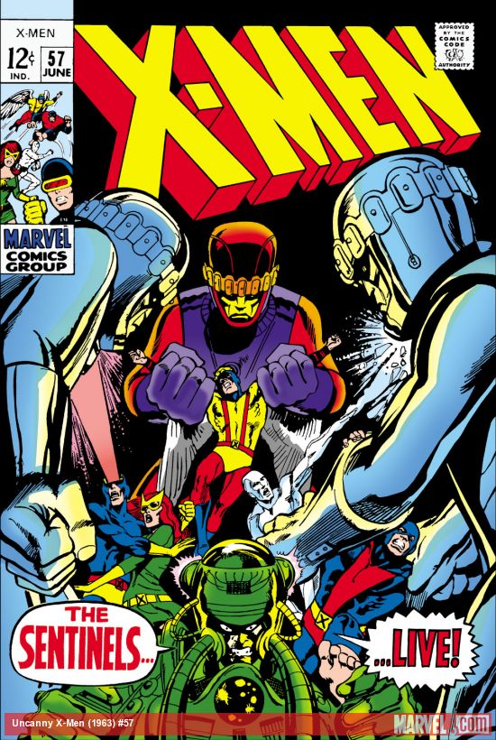 Uncanny X-Men (1963) #57