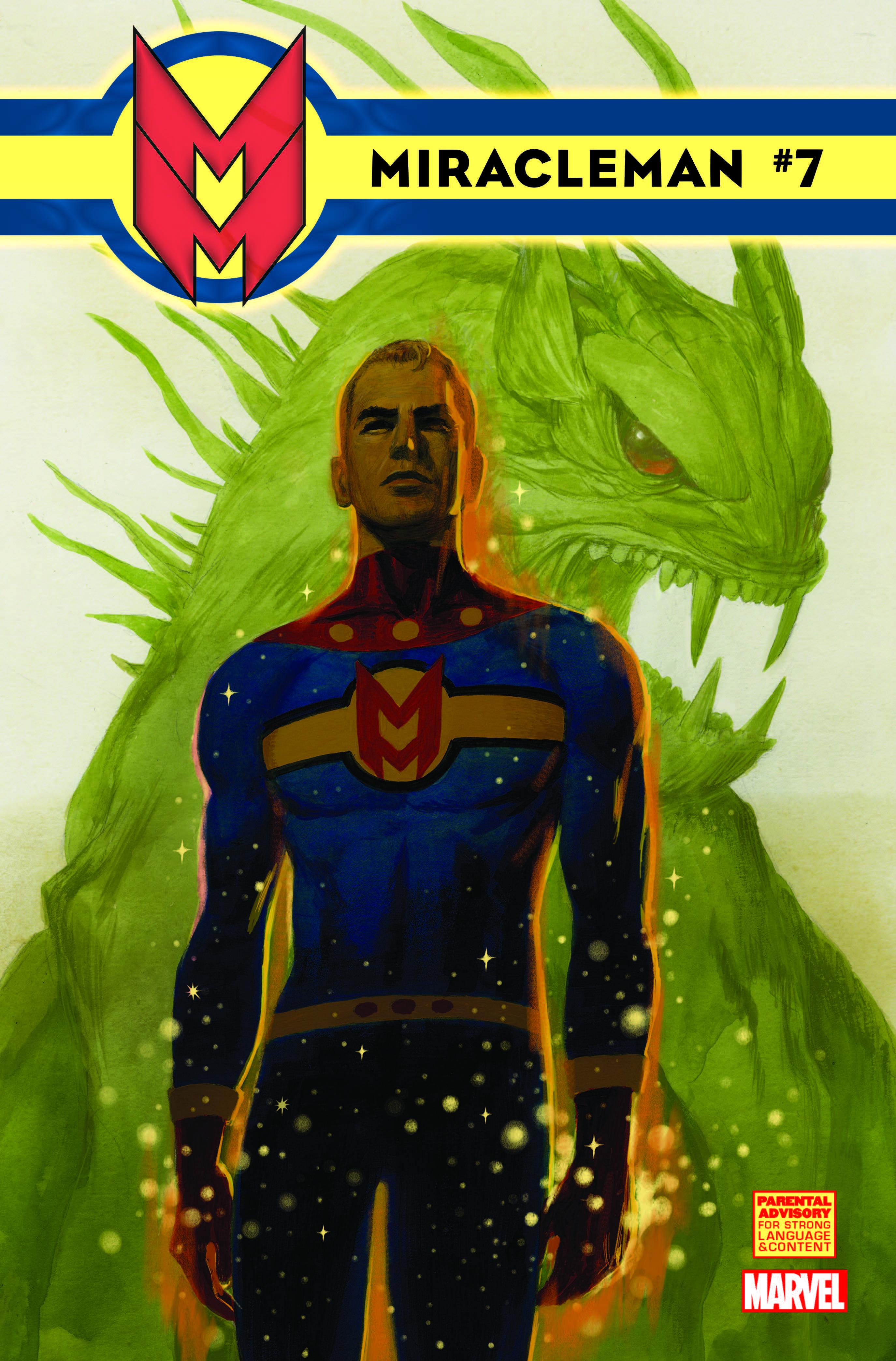 Miracleman (2014) #7 (Del Carmen Variant)