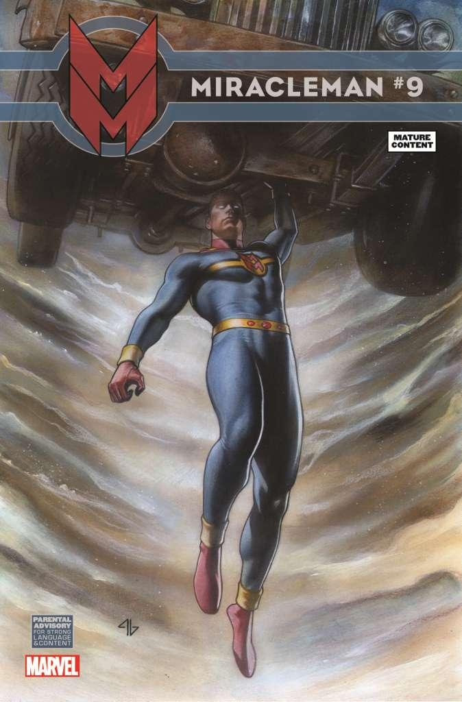 Miracleman (2014) #9 (Granov Variant)