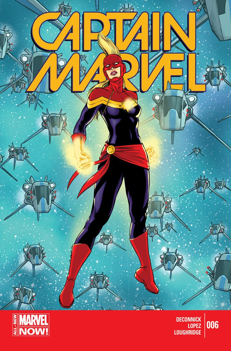 Captain Marvel (2014) #6