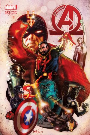 New Avengers #33  (Harris Variant)