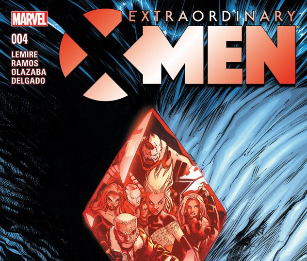 EXTRAORDINARY X-MEN 4 (WITH DIGITAL CODE)