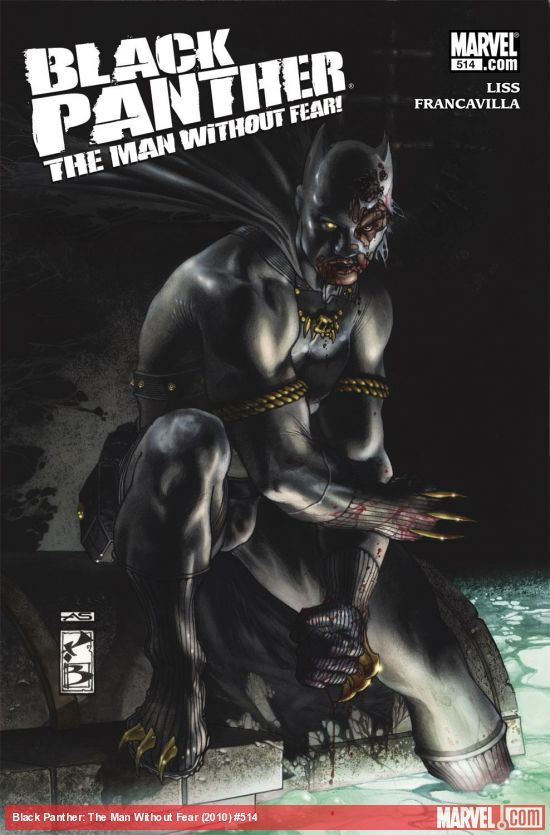 Black Panther: The Man Without Fear (2010) #514