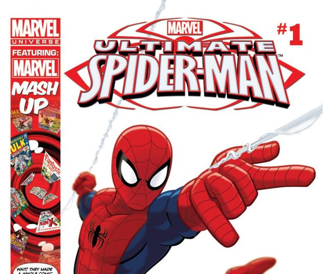 ULTIMATE SPIDER-MAN INFINITE (2012) #1 Cover