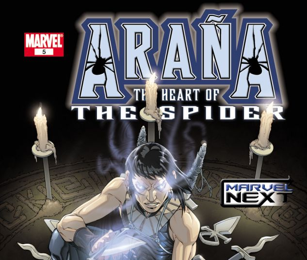 ARANA: THE HEART OF THE SPIDER (2005) #5 Cover