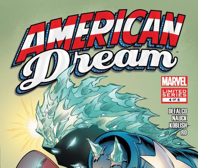 AMERICAN DREAM (2008) #4 Cover