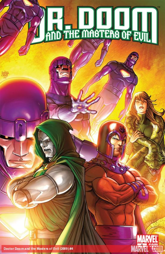 Doctor Doom and the Masters of Evil (2009) #4