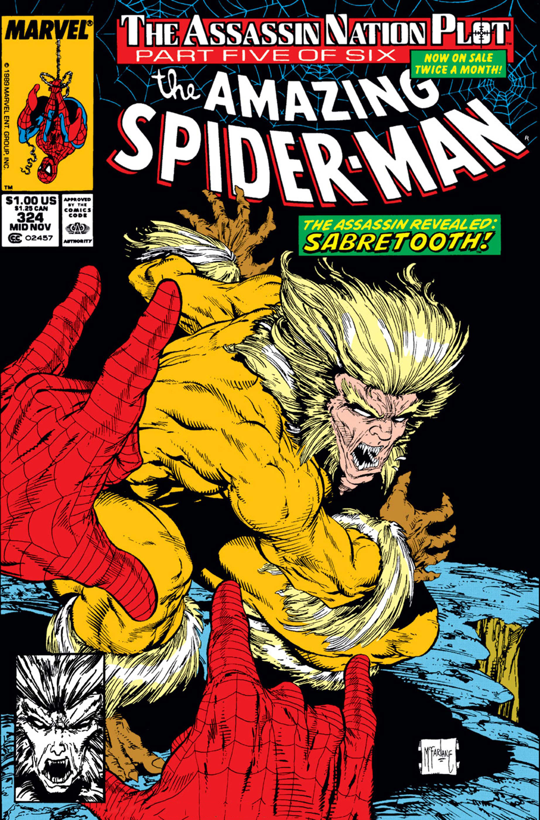 The Amazing Spider-Man (1963) #324