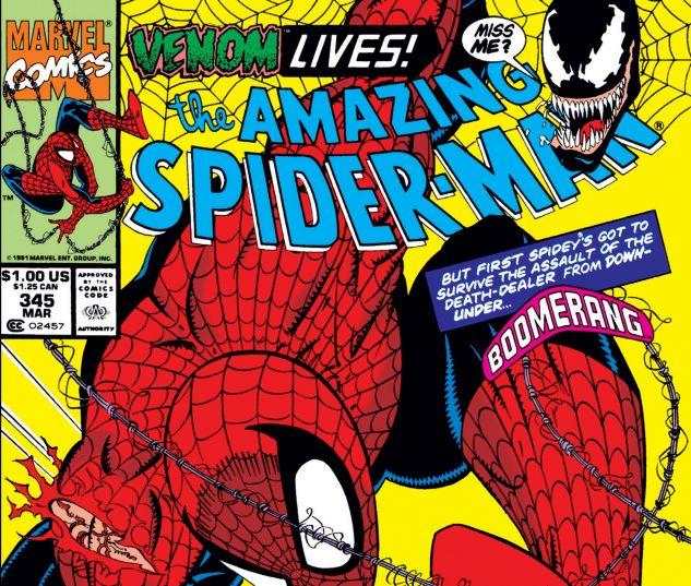 Amazing Spider-Man (1963) #345