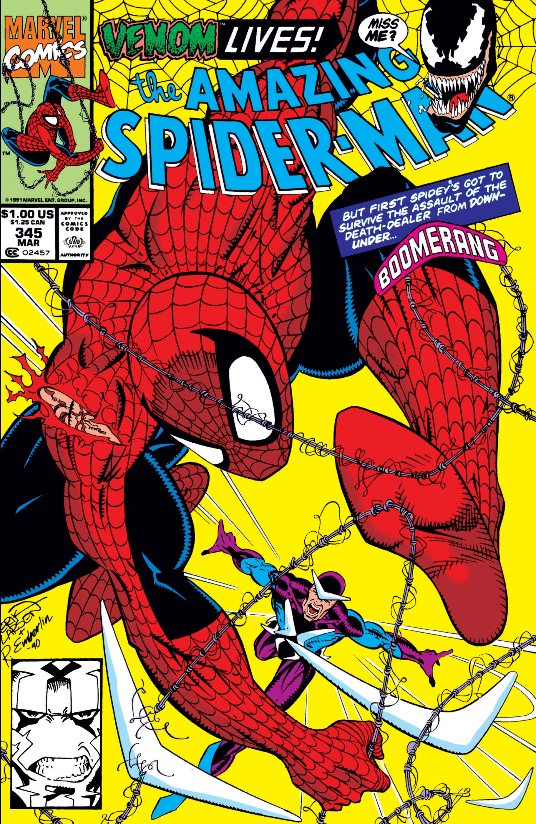 The Amazing Spider-Man (1963) #345