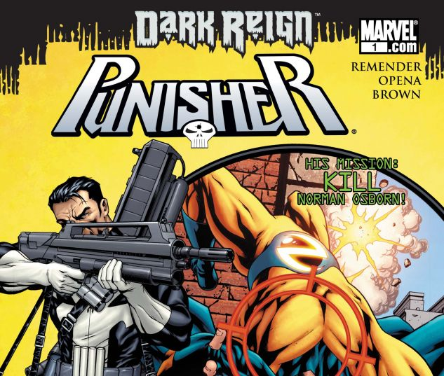 PUNISHER (2008) #1