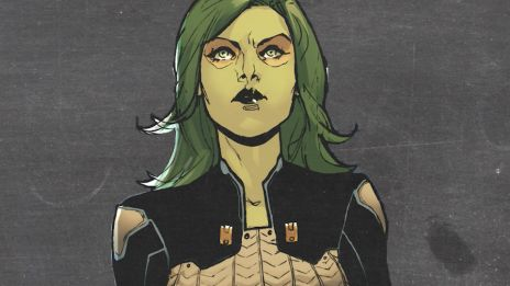 The last survivor of an entire race, raised by evil, Gamora rebelled to live her own life among the stars!