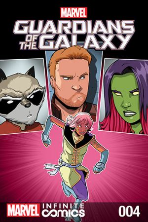 GUARDIANS OF THE GALAXY: AWESOME MIX INFINITE COMIC (2016) #4