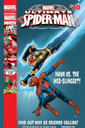 Marvel Universe Ultimate Spider-Man #10