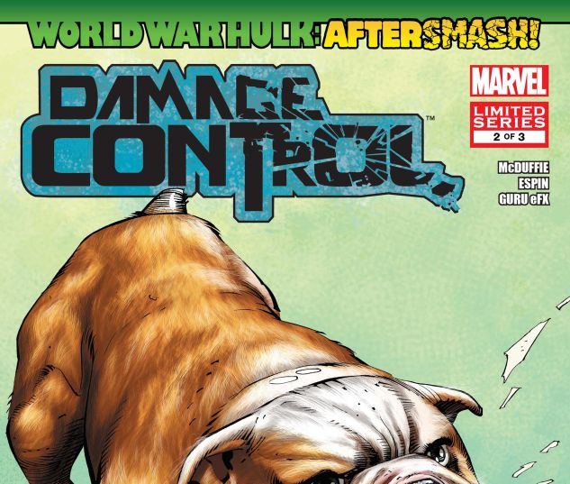 WORLD WAR HULK: AFTERSMASH! - DAMAGE CONTROL (2008) #2