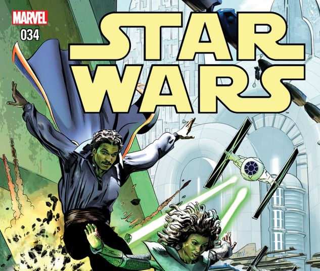 cover from Star Wars (2015) #34