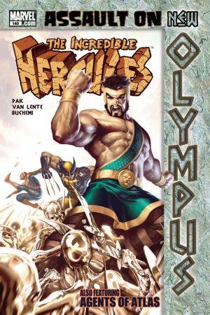 Incredible Hercules (2008) #140