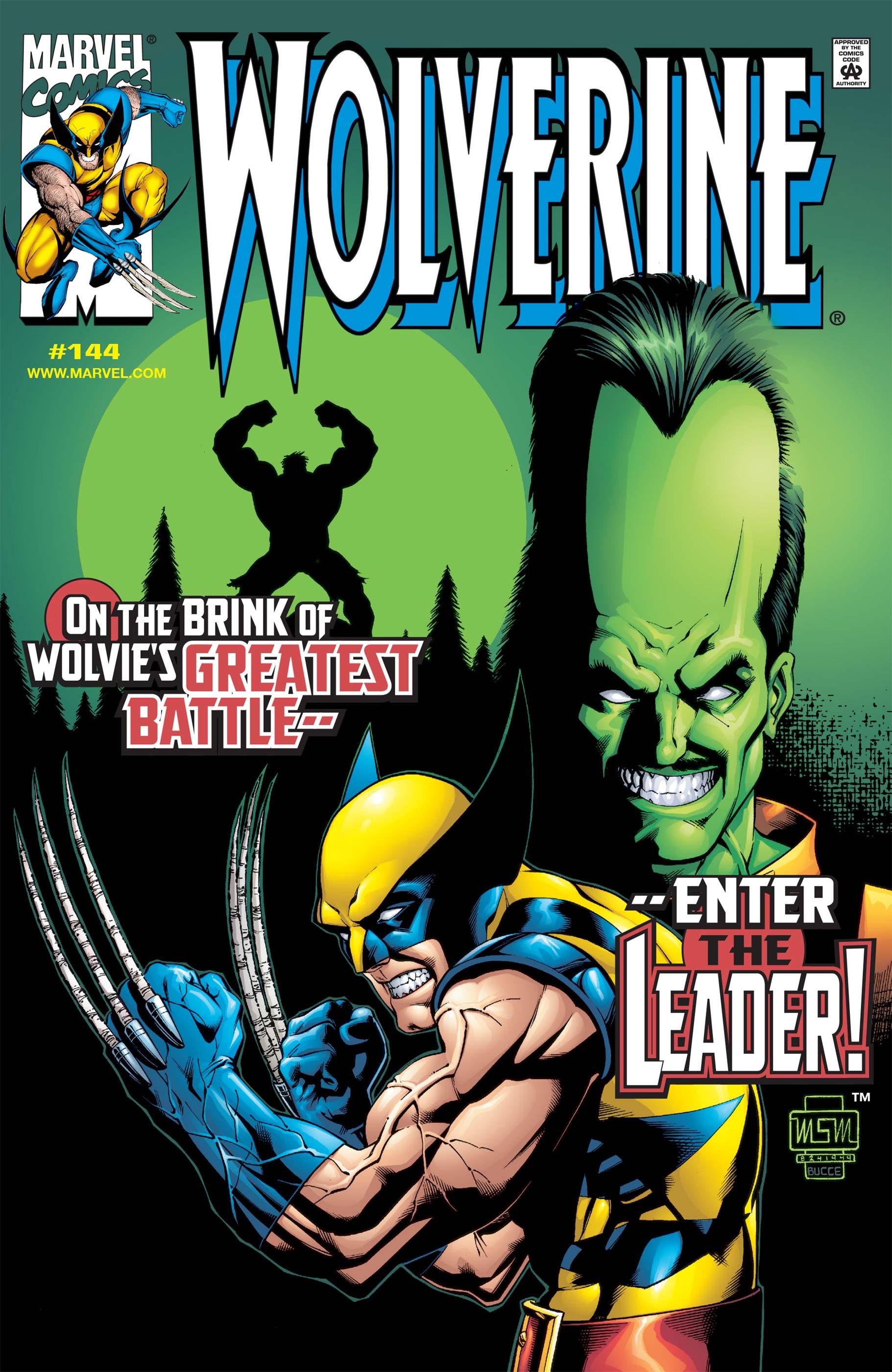 Wolverine (1988) #144