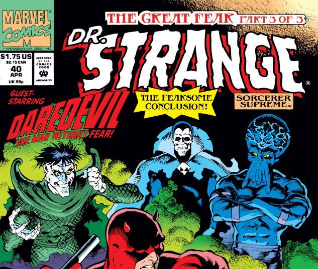 Cover for Doctor Strange, Sorcerer Supreme 40