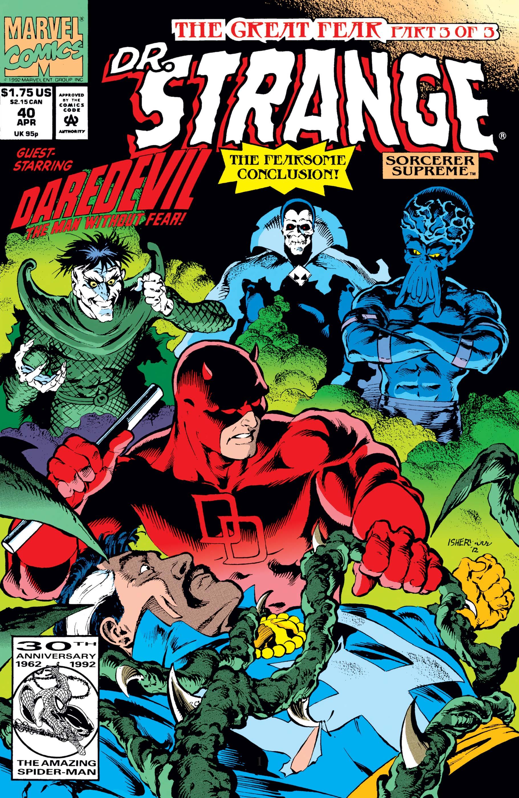 Doctor Strange, Sorcerer Supreme (1988) #40