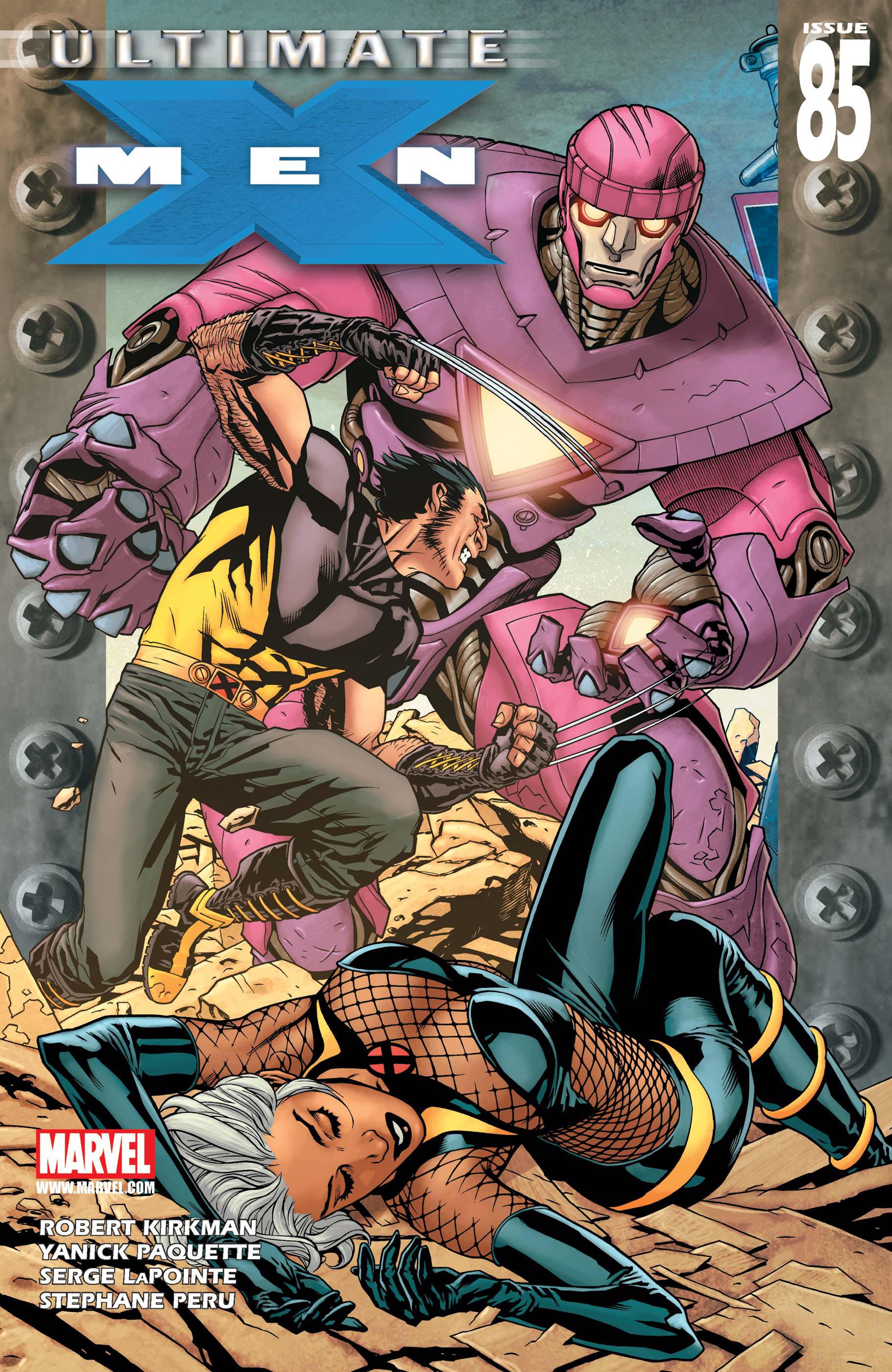 Ultimate X-Men (2001) #85