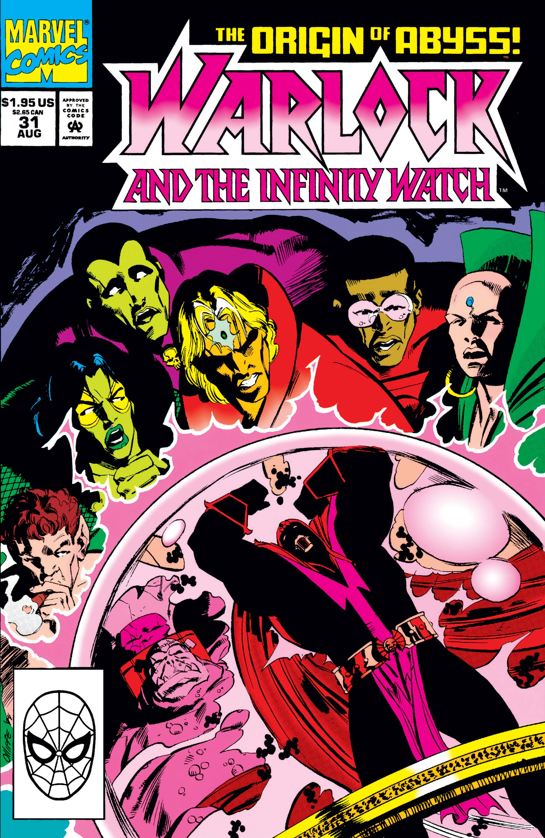 Warlock and the Infinity Watch (1992) #31