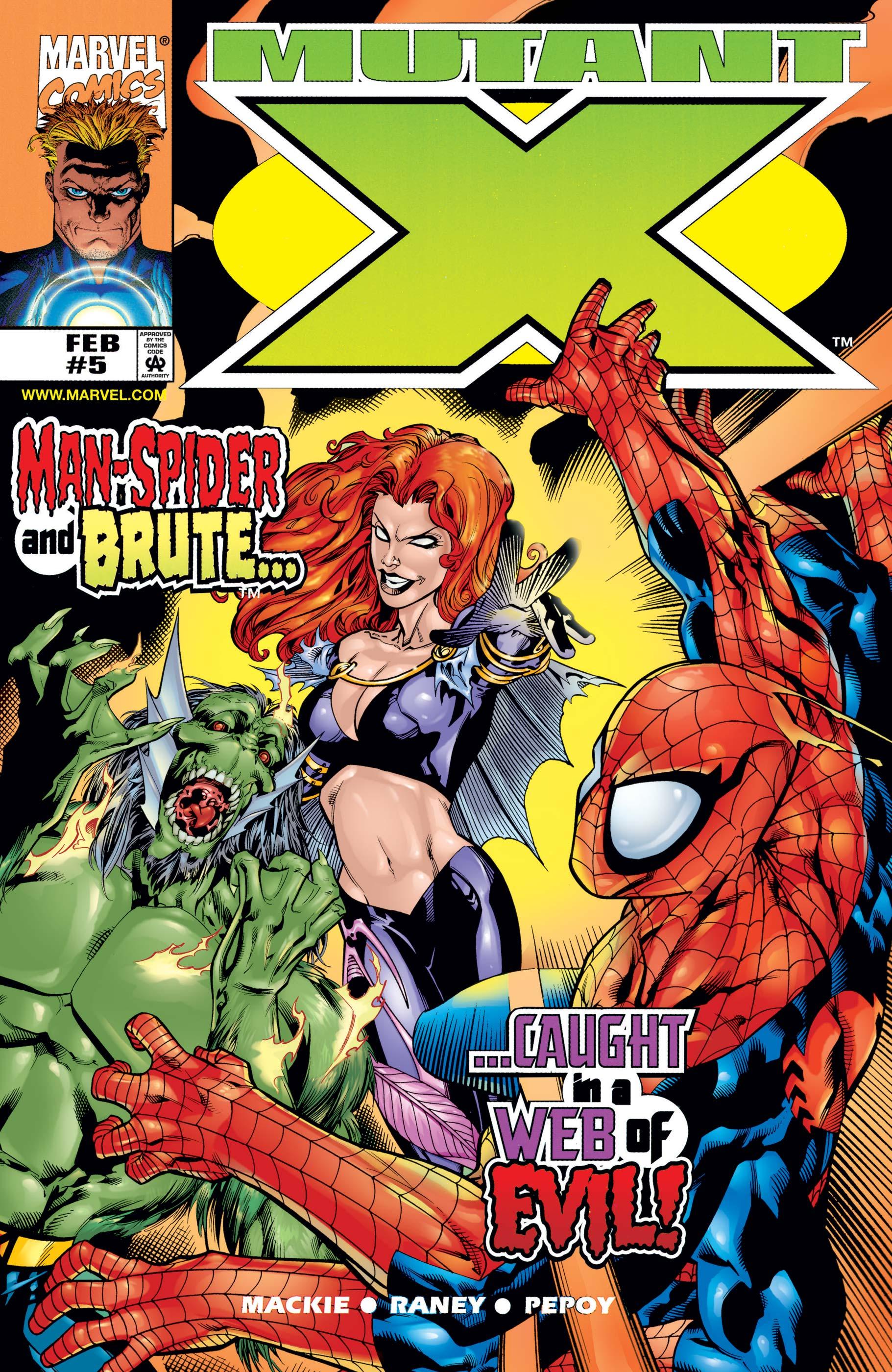 Mutant X (1998) #5