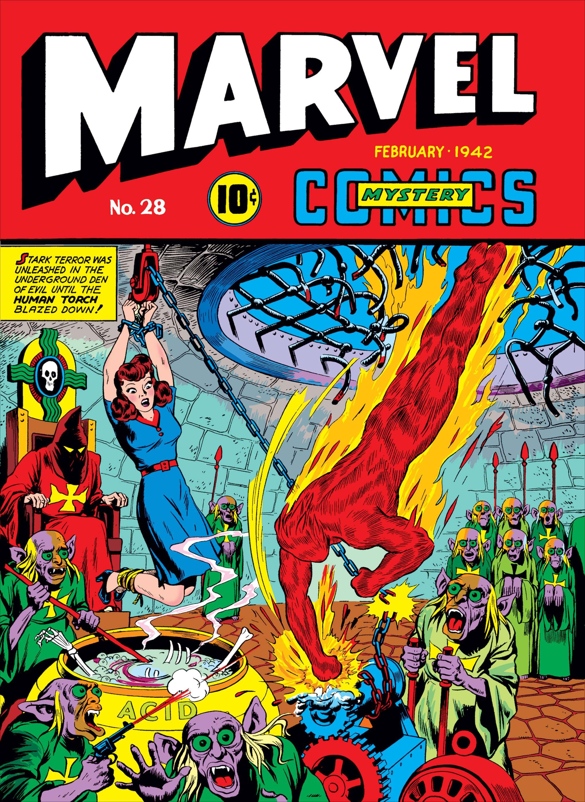 Marvel Mystery Comics (1939) #28