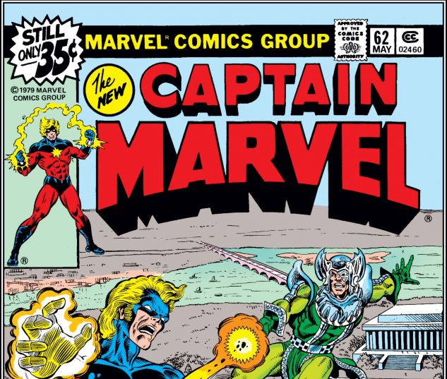 CAPTAIN MARVEL (1968) #62