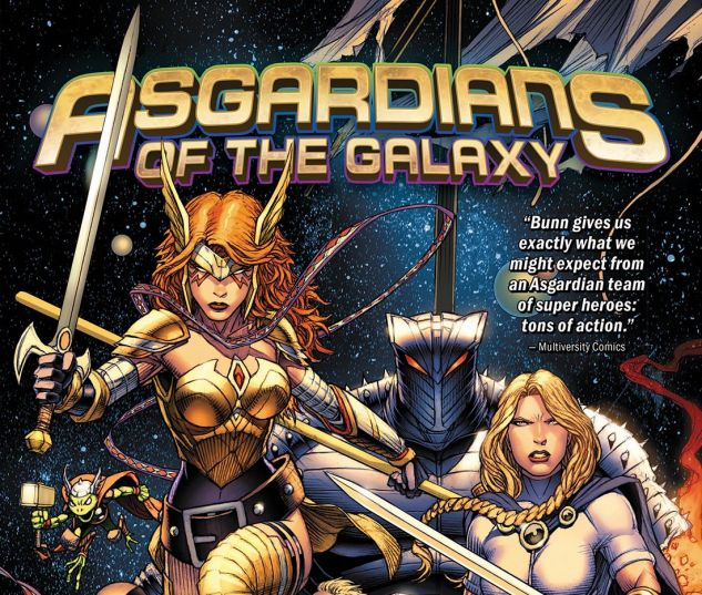 cover from ASGARDIANS OF THE GALAXY TPB (2019) #1