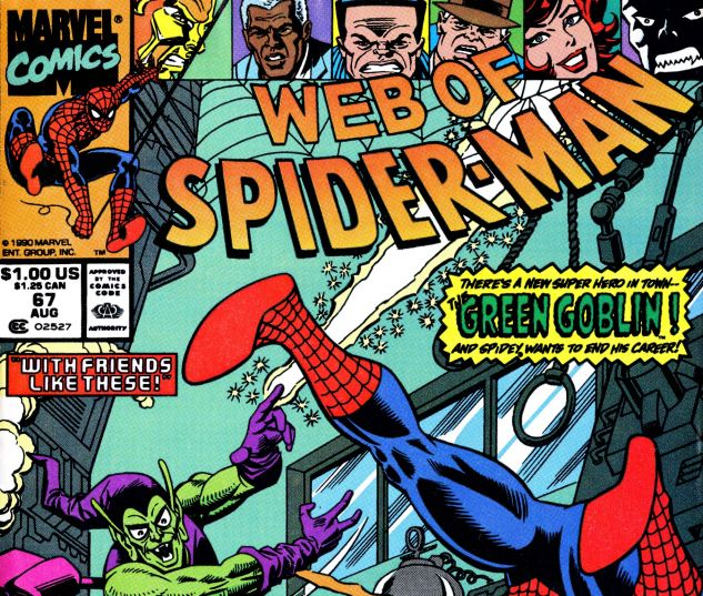 Web of Spider-Man (1985) #67