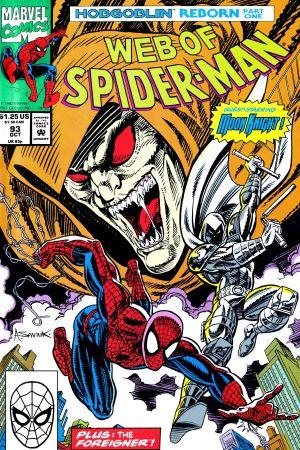 Web of Spider-Man (1985) #93