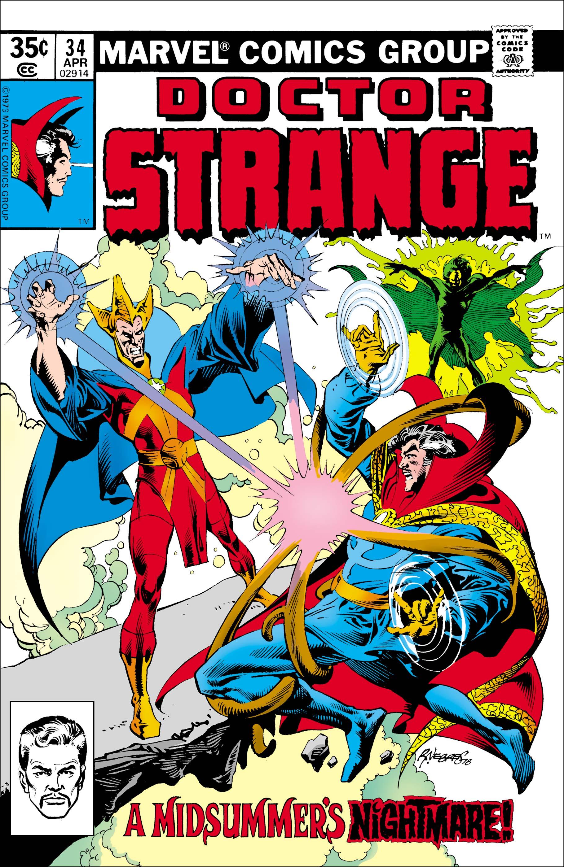 Doctor Strange (1974) #34