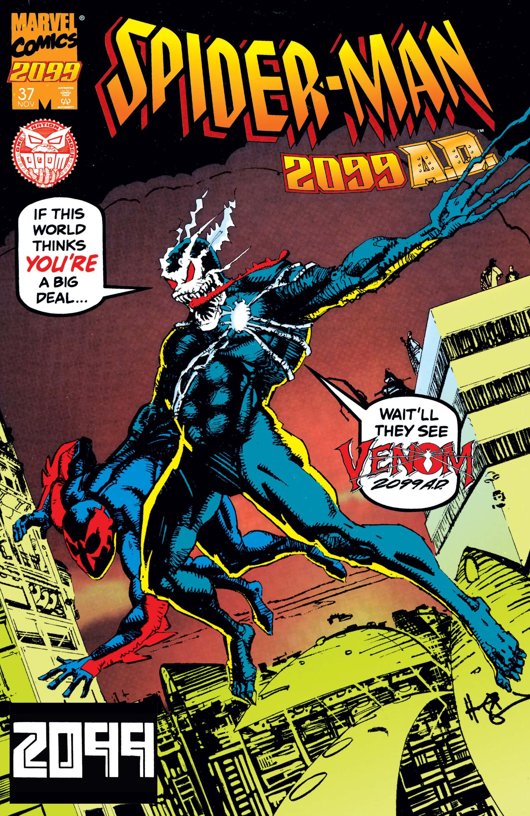 Spider-Man 2099 (1992) #37