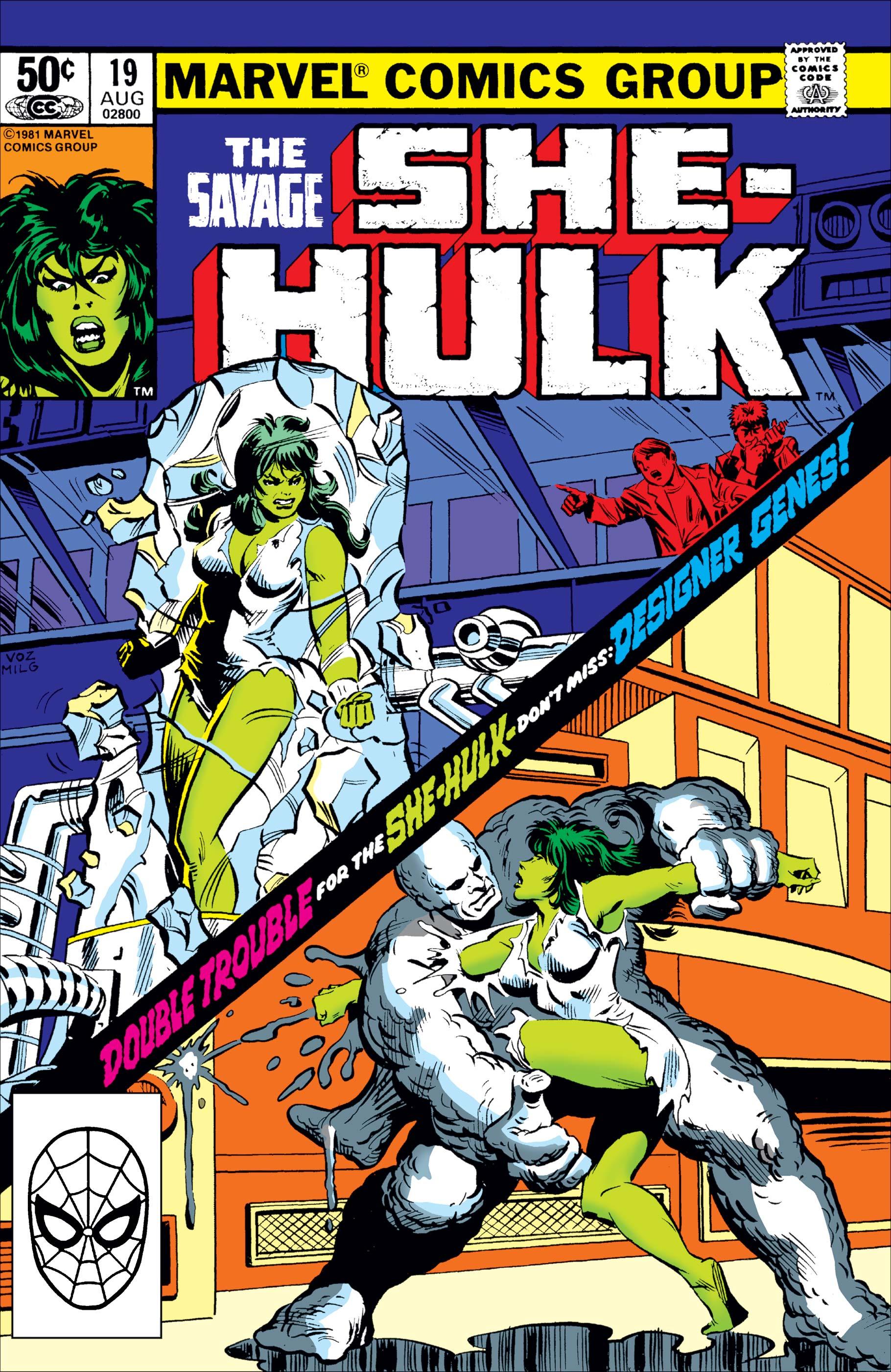 Savage She-Hulk (1980) #19