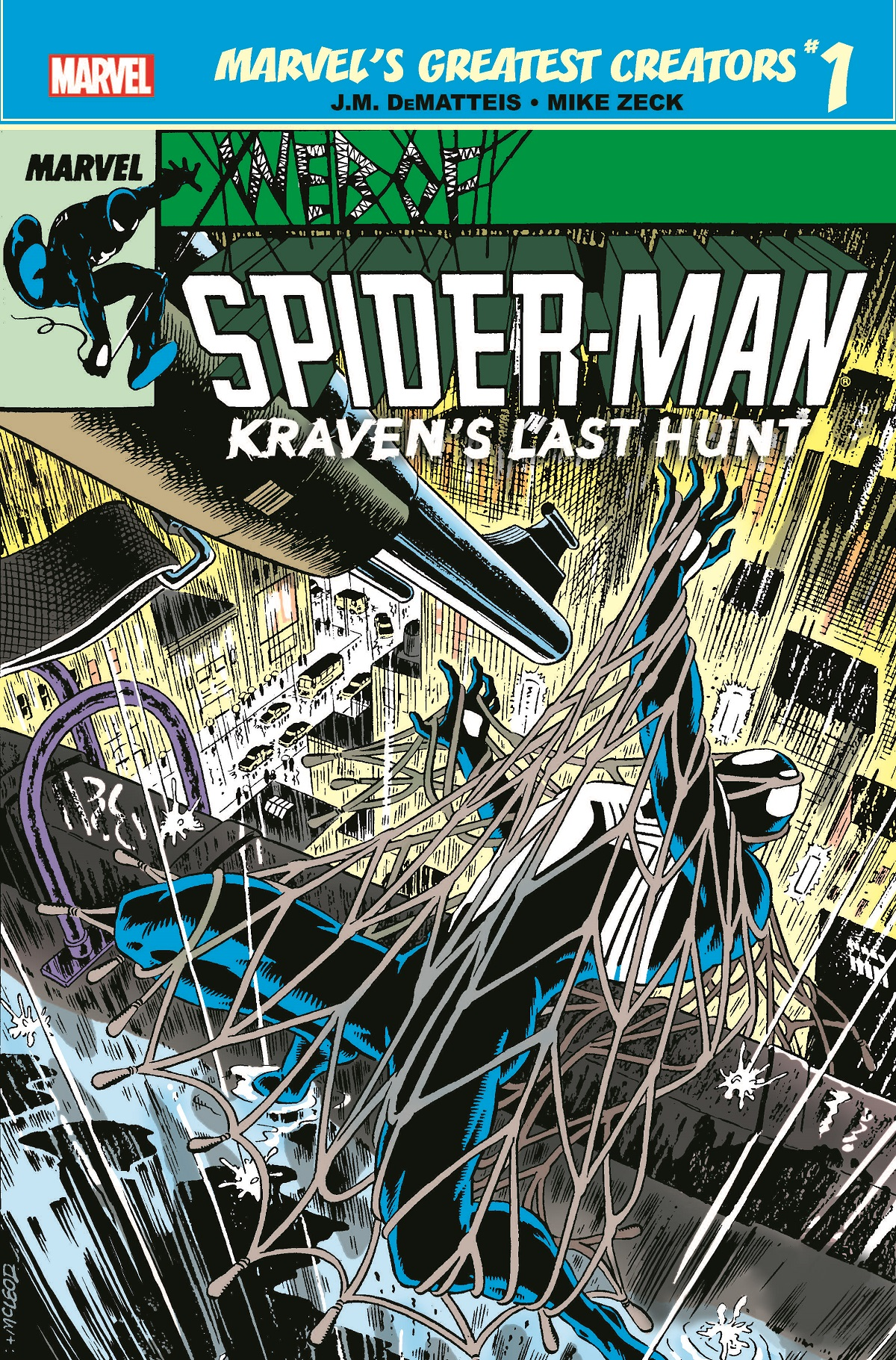 Marvel's Greatest Creators: Spider-Man - Kraven's Last Hunt (2019) #1