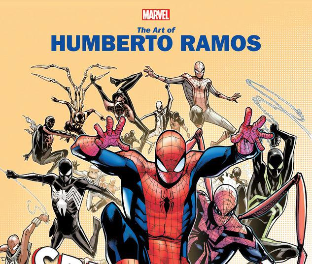 MARVEL MONOGRAPH: THE ART OF HUMBERTO RAMOS - SPIDER-MAN TPB #1