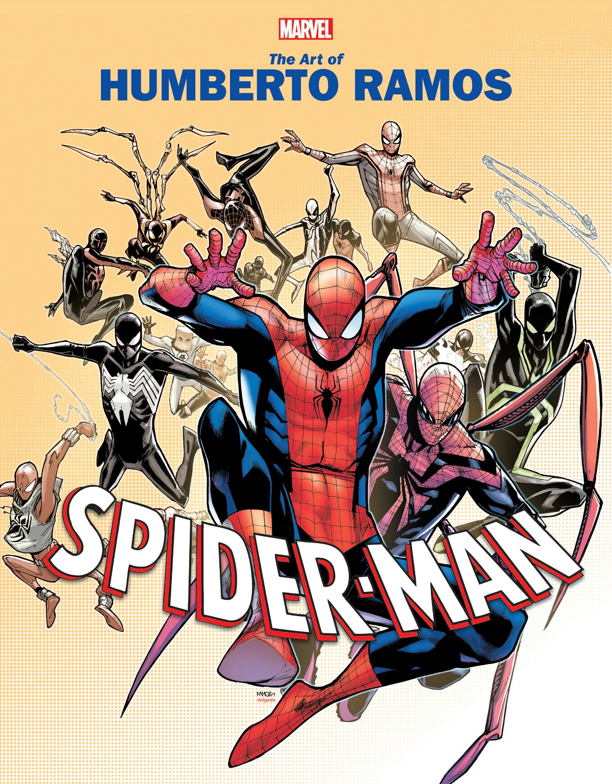 Marvel Monograph: The Art Of Humberto Ramos - Spider-Man (Trade Paperback)