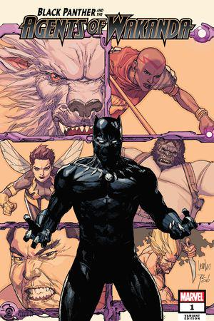 Black Panther and the Agents of Wakanda (2019) #1 (Variant)