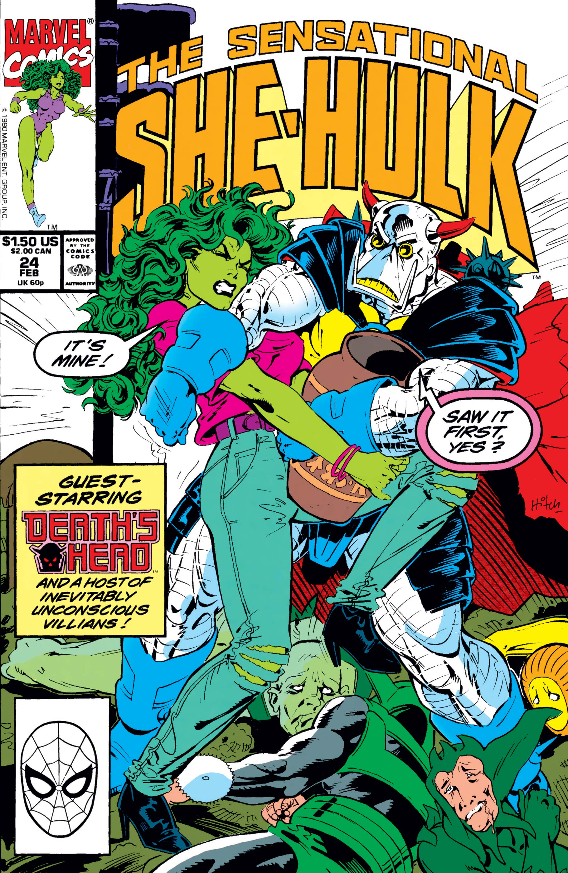 Sensational She-Hulk (1989) #24
