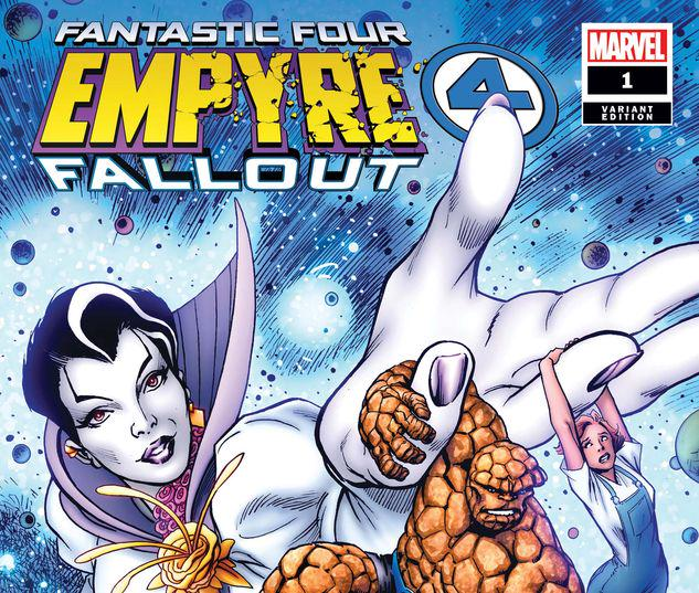 EMPYRE: FALLOUT FANTASTIC FOUR 1 DAVIS VARIANT #1