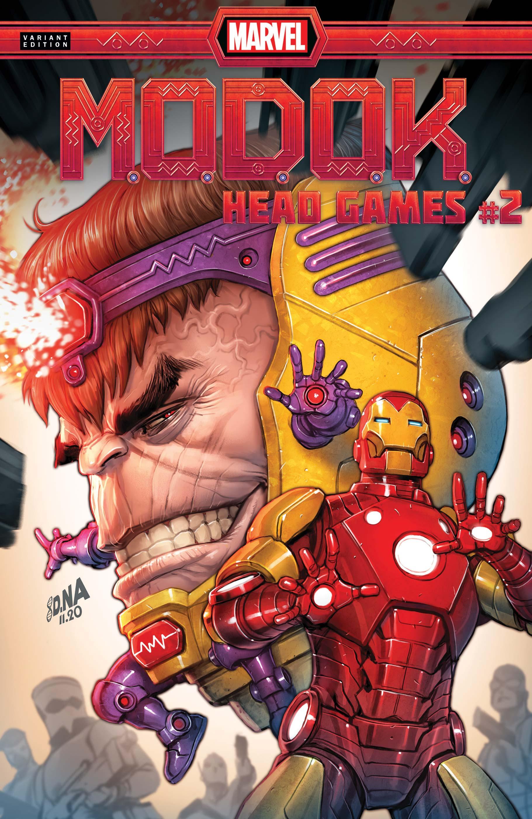 M.O.D.O.K.: Head Games (2020) #2 (Variant)