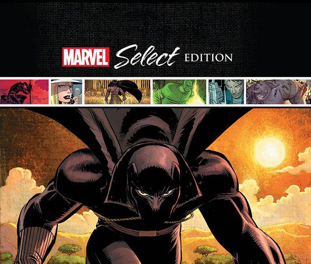 BLACK PANTHER: WHO IS THE BLACK PANTHER? MARVEL SELECT HC #1