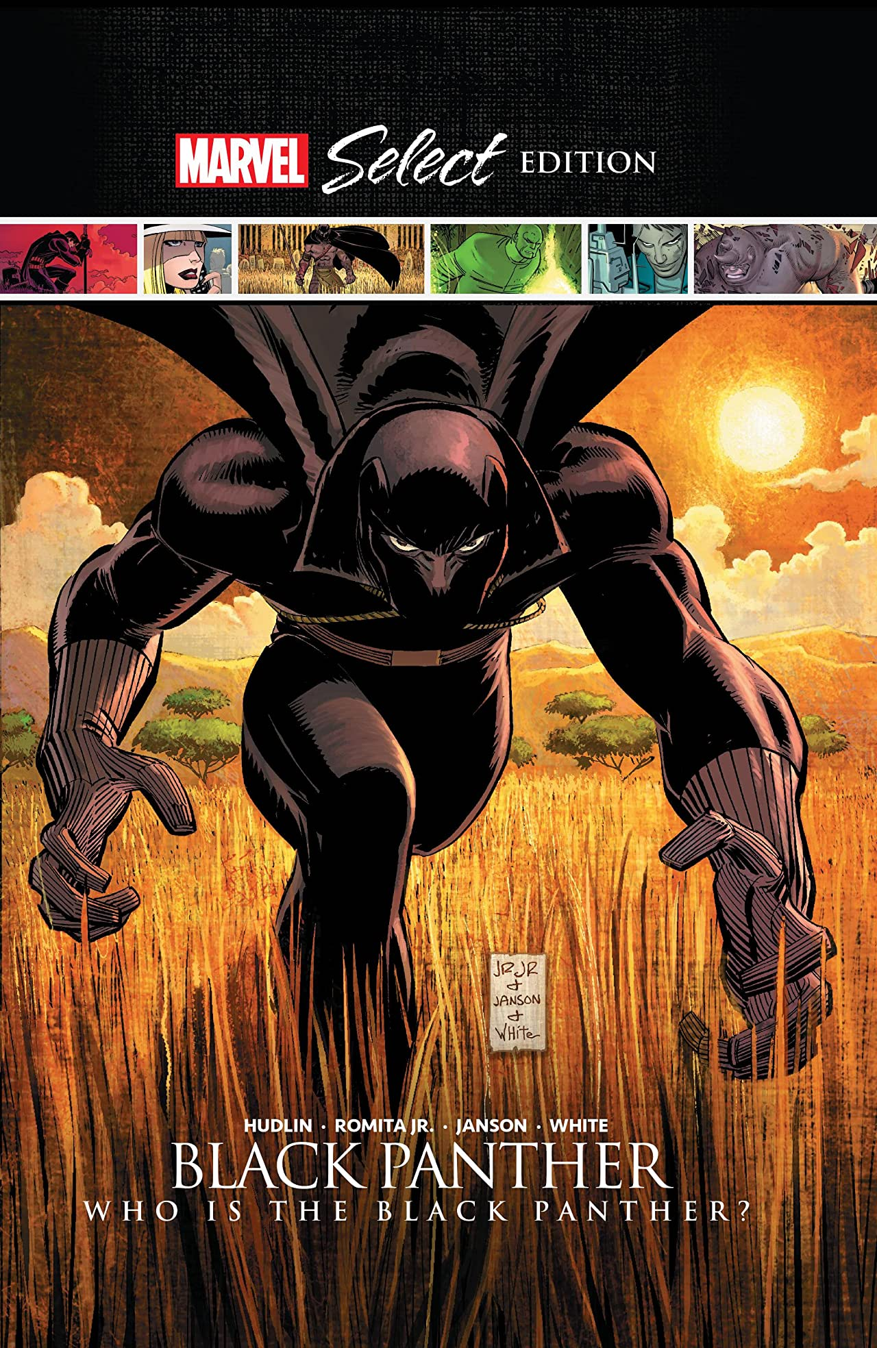 Black Panther: Who Is The Black Panther? Marvel Select (Hardcover)