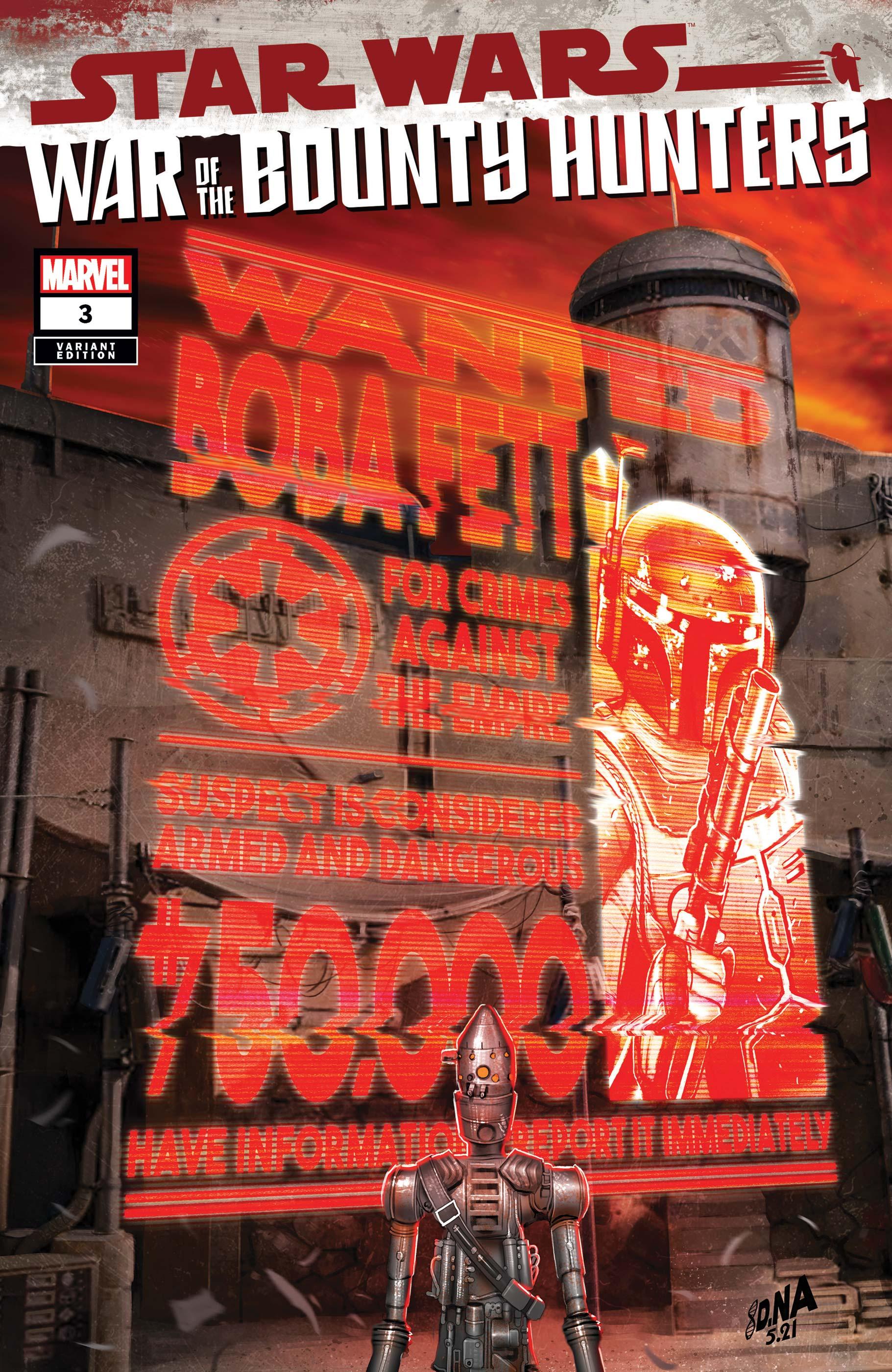 Star Wars: War of the Bounty Hunters (2021) #3 (Variant)