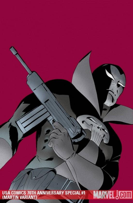 USA Comics 70th Anniversary Special (2009) #1 (MARTIN VARIANT)