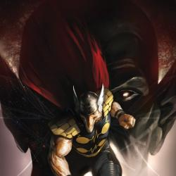 SECRET INVASION AFTERMATH: BETA RAY BILL - THE GREEN OF EDEN cover by Marko Djurdjevic
