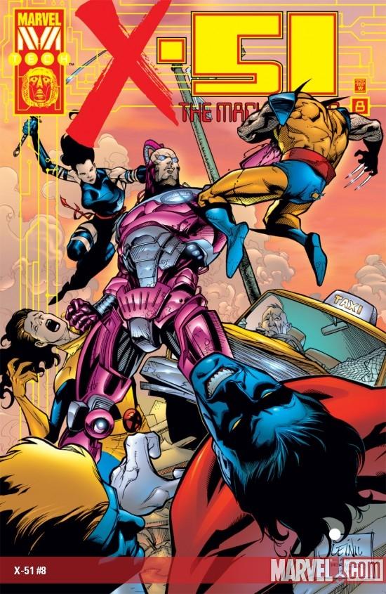 X-51 (1999) #8